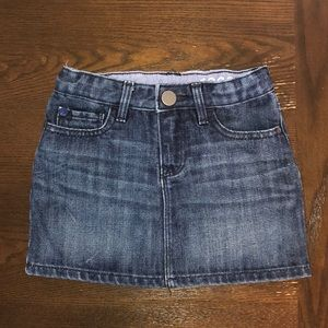 Toddler Jean Skirt (sz 3T )